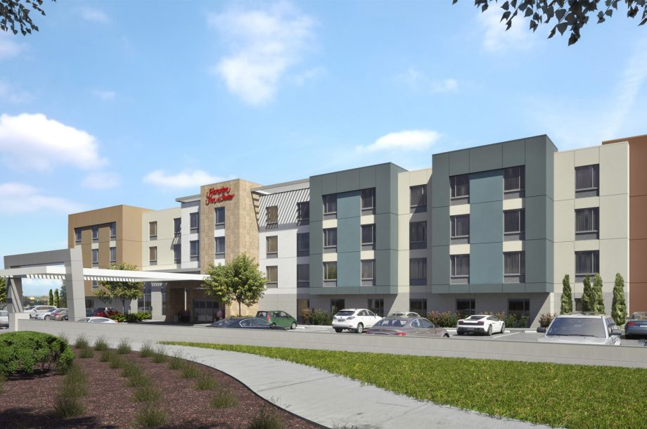 Hampton Inn and Suites Imperial Beach - DesignCell Architecture