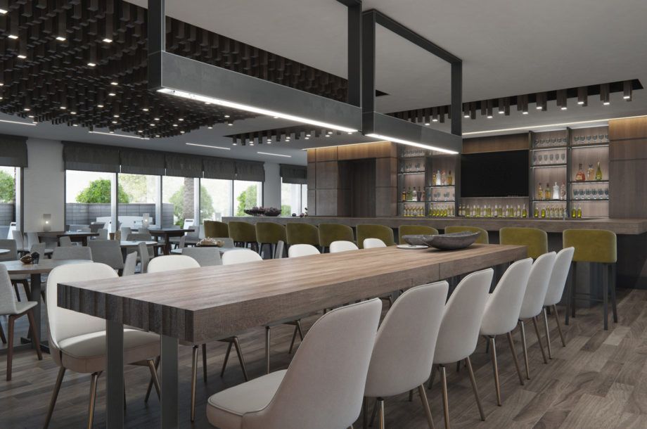 Architectural and Interior Design For Marriott Residence in Brea California