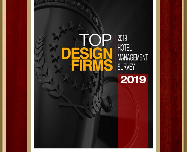 Listed as a Top Design Firm by Hotel Management 2019 - DesignCell Architecture