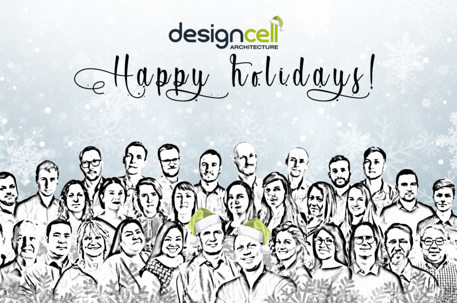 DesignCell Architecture Holiday Card